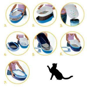 Bandeja Furba Moderna Chalesco p/ Gatos