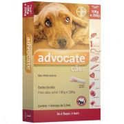 Anti Pulgas Bayer Advocate Cães de 10 a 25 Kg - 2,5 ml