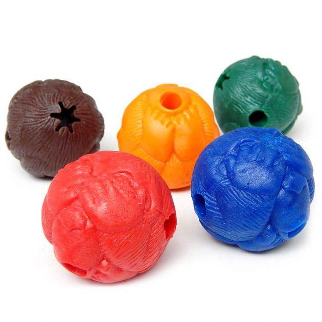 Brinquedo Cães Bola Macaquinho Pequena