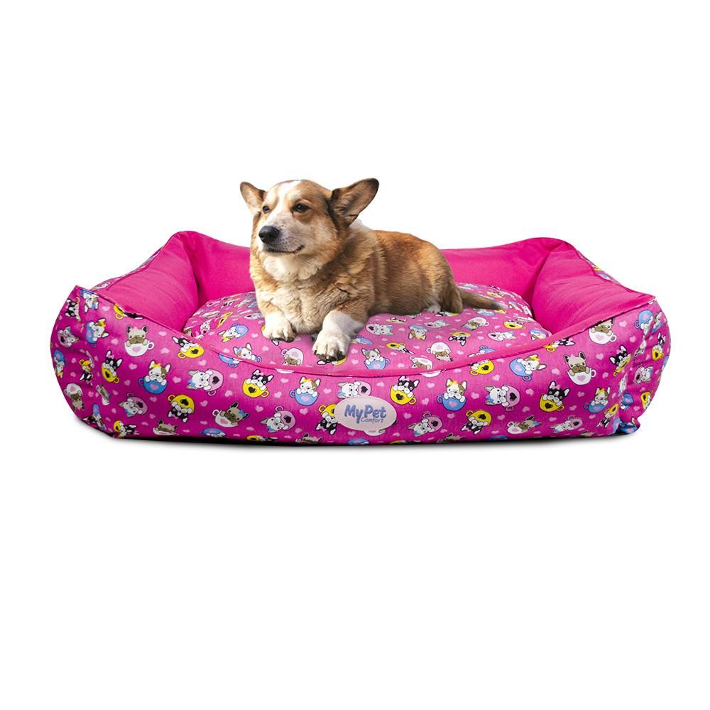 Cama Cachorro Pink Dog - M