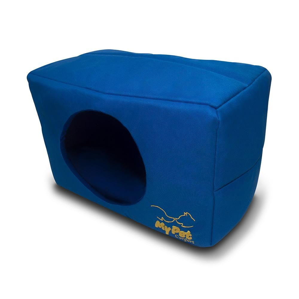 Cama Cachorro Toca My Pet Azul