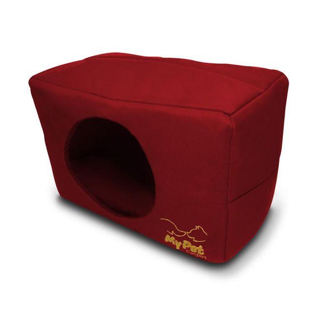 Cama Cachorro Toca Vermelha