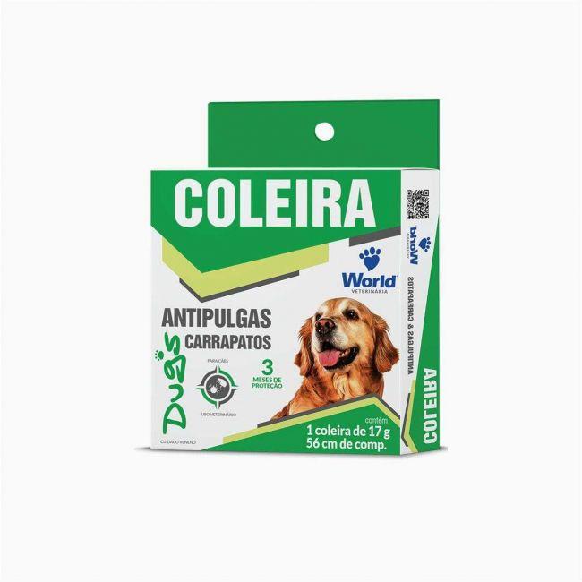 Coleira Antipulgas e Carrapatos Dug´s para Cães