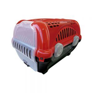 Caixa de Transporte Luxo N.1 Vermelha Furacão Pet