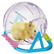 Globo Hamster Plast Pet Pequeno 13 cm