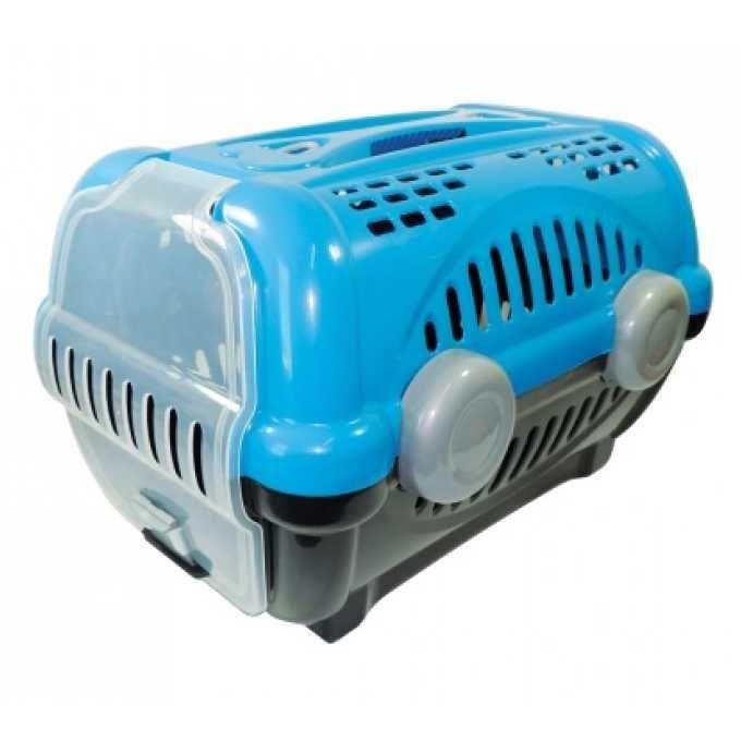 Caixa de Transporte Luxo N.2 Azul Furacão Pet