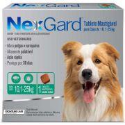 Antipulgas Nexgard 68 mg Cães (G) de 10,01 a 25 kg