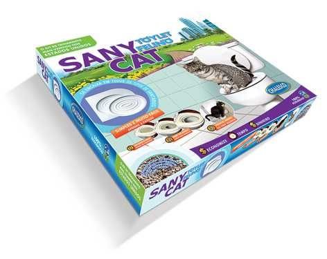 Sanitário Para Gato - Sany Cat