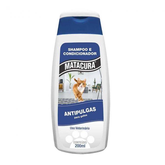 Shampoo Antipulga Matacura Gato