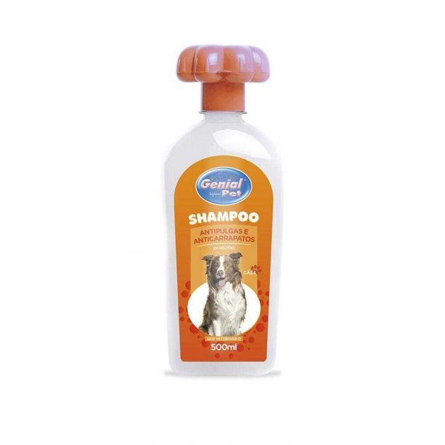 Shampoo Genial Anti-pulgas 500ml
