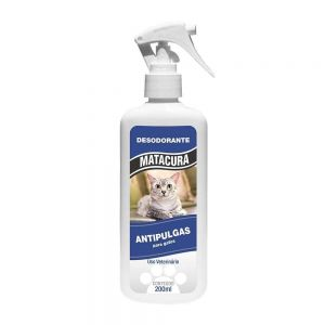 Spray Desodorante Antipulgas Matacura Gato