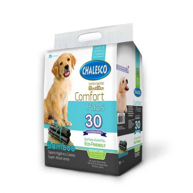 Tapete Higiênico Cachorro Carbono Confort Bamboo c/ 30 un