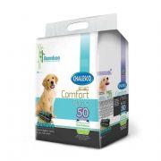 Tapete Higiênico Cachorro Carbono Confort Bamboo c/ 50 un