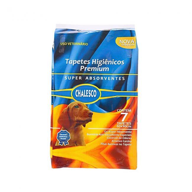Tapete Higienico Chalesco Premium c/7 para Cachorro