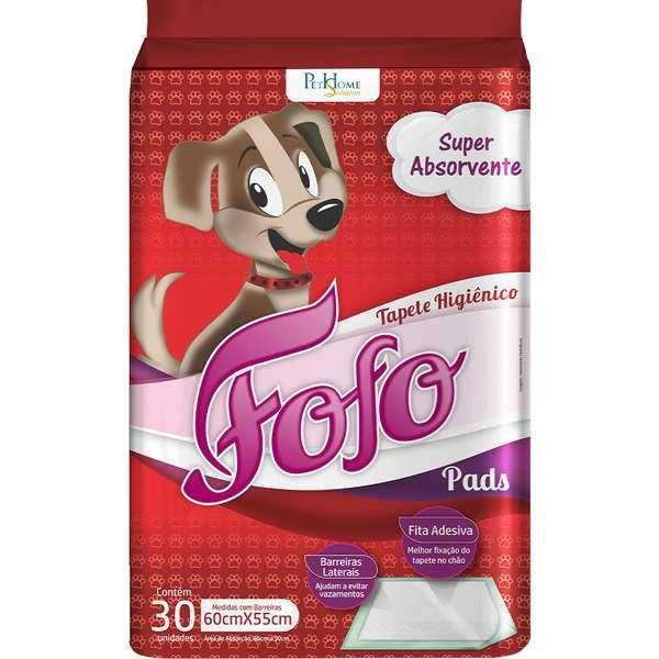 Tapete Higiênico Fofo Pads c/30 para Cachorro