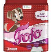 Tapete Higiênico Cães Fofo Pads 50 unidades