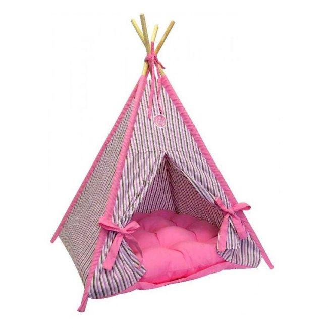 Tenda Dakota São Pet Rosa - Cães e Gatos