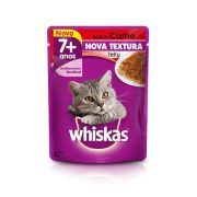 Whiskas Sachê Jelly Gatos Adultos 7+ Carne 85g
